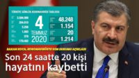 Sağlık Bakanı Fahrettin Koca, koronavirüs vaka sayılarını açıkladı!