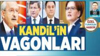 HDP'nin Kandil'in vagonları