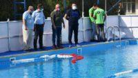 Yüzme kursları 10 Ağustos'ta başlıyor.