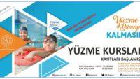Bilmeyen Kalmasın' projesiyle çocuklar hem yüzme öğrenecek, hem eğlenecekler