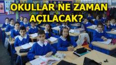 Okullar 31 ağustosta kademeli açılacak
