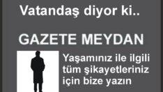 GÜREDEKİ ÇAY BAHÇESİNİ KATLETMİŞLER!..