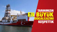 Karadeniz'de 320 milyar metreküp doğalgaz bulundu