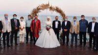 Körfezde dillere destan düğün