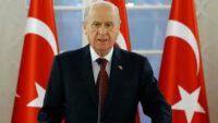 MHP Lideri Bahçeli: Bayraklaştığımız yer İzmir, düşmanı batıracağımız yer de gene Ege'dir