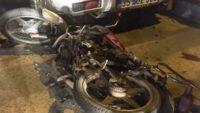Ayvalık'ta motosikletle otomobil çarpıştı: 1 ölü