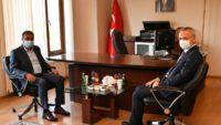 Vali Hasan Şıldak Vakıflar Bölge Müdürlüğünü Ziyaret Etti