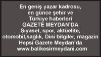 GAZETE MEYDAN..TÜRKİYE'NİN VE ŞEHRİN SESİ..