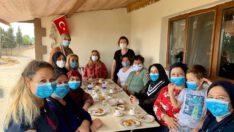Milletvekili Mutlu Aydemir ziyaretlerini sürdürüyor.