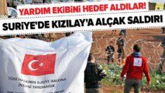 Suriye'de Türk Kızılay aracına alçak saldırı! 1 personel şehit ..