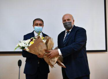 Ahilik Haftası İl Kutlama Komitesi ValiHasan Şıldakı ziyaret etti.
