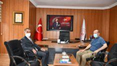 Milletvekili Adil Çelik Gençlik ve Spor İl Müdürü ile istişare yaptı