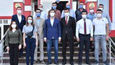 AK PARTİ GENÇLİK KOLLARINDAN BALIKESİRSPOR'A ZİYARET