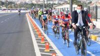 Başkan Yılmaz, 10 Büyükşehirin Bisiklet Etkinliğinin Startını Verdi