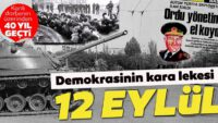 Demokrasinin kara lekesi:12 Eylül