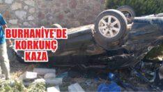 BURHANİYE'DE KORKUNÇ KAZA!..