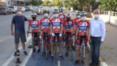 Karesi Belediyespor bisiklet takımı turnuvalara hazır