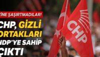 CHP, gizli ortakları HDP'ye sahip çıkt