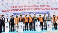 Bakan Kasapoğlu Balıkesir'de temel attı, açılışyaptı