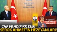 CHP ve HD(P)KK esiri serok Ahmet'in hezeyanları!