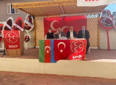 MHP Dursunbey İlçe Başkanlığının Olağan Kongresi gerçekleştirildi.