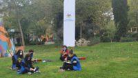 Çevre Timi gönüllü gençleri doğa yürüyüşü ve çevre temizliği gerçekleştirdi.