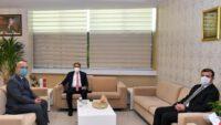 ValiHasan Şıldak İl Sağlık Müdürü Uzman Dr. Serkan Kadir Keskin'e başarı diledi.