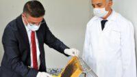 Balıkesir Üniversitesinde İlk Bal Hasadı Gerçekleştirildi