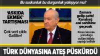 Bahçeli'den MHP Grup Toplantısında önemli açıklamalar
