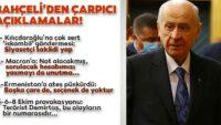 MHPLideriDevlet Bahçeli'den gündeme dair çok çarpıcı açıklamalar!..