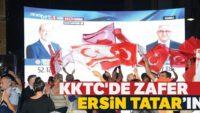 KKTC'nin yeni Cumhurbaşkanı Ersin Tatar