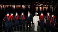 Bakan Soylu, Sahil Güvenlik ile Kuzey Ege'ye açıldı