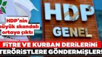 HDP'nin büyük skandalı ortaya çıktı! Fitre ve kurban derilerini teröristlere göndermişler(Göktuğ ŞEREMETLİ)
