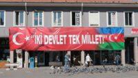 BALIKESİR'DEN KAARDEŞ AZERBEYCAN'A TAM DESTEK