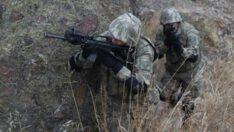 Bir asker şehit oldu, bir asker yaralandı