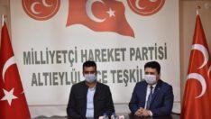 MHP ALTIEYLÜL'E ZİYARET..
