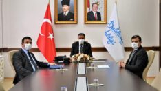 Pandemi ve Eğitim Çalışmaları Değerlendirme Toplantısı gerçekleştirildi