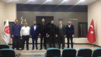 MHP KARESİ'DEN İL BAŞKANI EKREM GÖKAY YÜKSEL'E ZİYARET