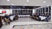 Altıeylül Belediye Başkanı Hasan AVCI Ak Parti Altıeylül İlçe Teşkilatı ile Sultan Alparslan Kültür Evinde bir araya geldi.