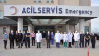 Rektör Prof. Dr. İlter KUŞ'tan, BAÜN Hastanesine Ziyaret