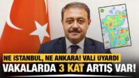 BALIKESİR DİKKAT!..Ne İstanbul, ne Ankara! Vali uyardı: Vaka sayısı BALIKESİR'de bir haftada 3 kat arttı