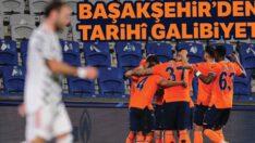 Başakşehir, Şampiyonlar Ligi'nde Manchester United'ı 2-1 mağlup etti
