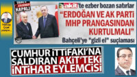 Cumhur İttifakı'na saldıran Akit'teki intihar eylemcisi
