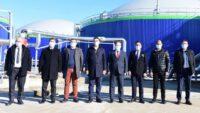 Biogaz Elektrik Tesisleri'ni ziyaret etti.