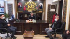 MHP'DEN KEPSUT BELEİYE BAŞKANINA ZİYARET