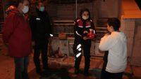 POLİS AMCALARINDAN AYAZ'A DOĞUM GÜNÜ SÜRPRİZİ