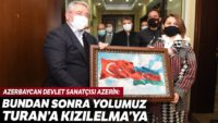 Azerin: 'Bundan sonra yolumuz Turan'a, Kızılelma'ya'