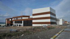 BAÜN Kütüphane ve Kongre Kültür Merkezi inşaatı sona doğru yaklaşıyor.