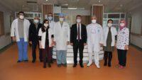 Rektör Prof. Dr. İlter Kuş'tan BAÜN Hastanesine Ziyaret