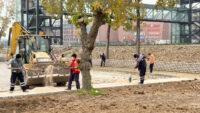 Büyükşehir, Kente Hem Estetik Hem de Güvenli Alan Kazandırıyor